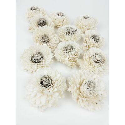 Sola zinnia fehér 8 cm*12
